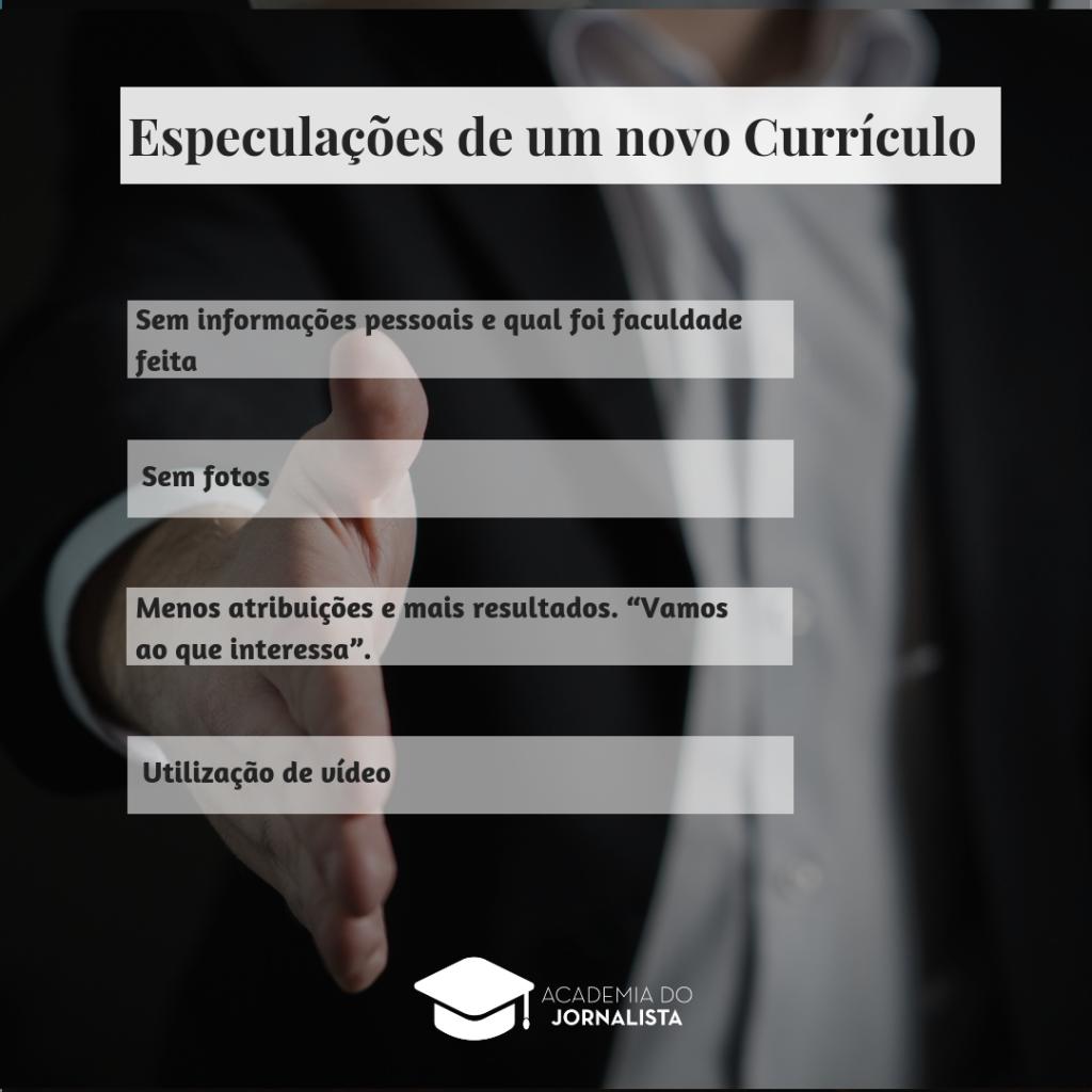 Currículo Tradicional some: conheça as modernidades