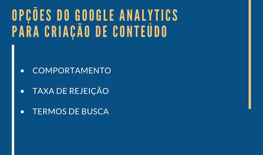 Descubra como escrever o que o leitor busca usando o Google Analytics