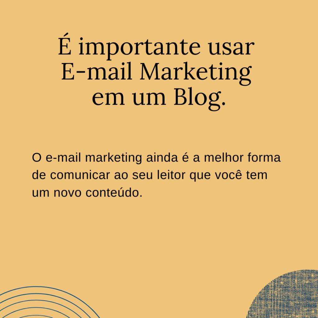 O e-mail marketing ainda é importante? Essa é uma das perguntas mais encontradas quando se busca pelo assunto... e a responde é SIM.
