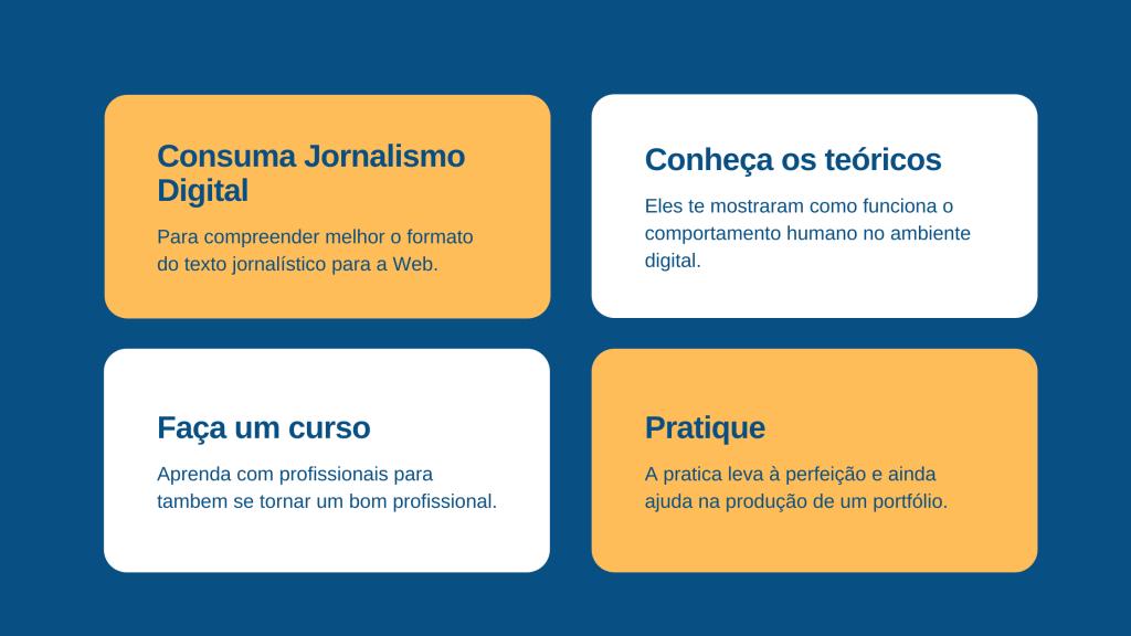 Como estudar Jornalismo Digital