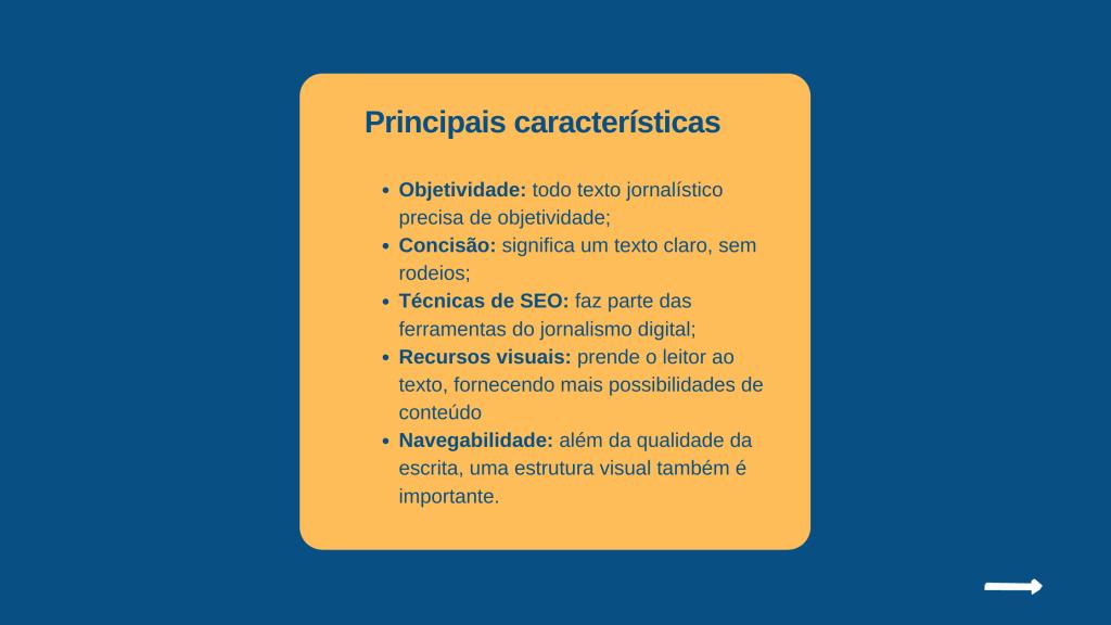 Textos para web: descubra as principais características