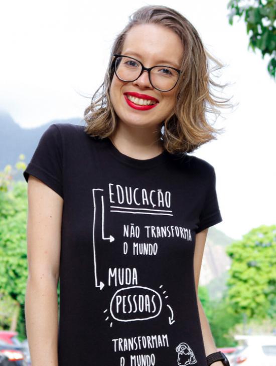 Jornalista Fernanda Felix